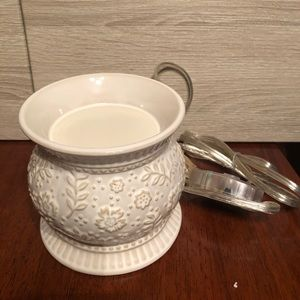 Gold Canyon Accents - Gold Canyon Alabaster artisan pottery pod warmer